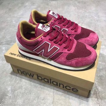 LMFUX5 new balance 770 unisex sport casual retro n words sneakers couple fashion running shoes