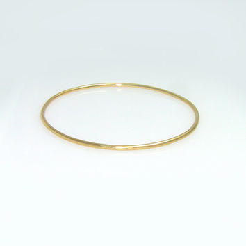 Solid Gold Bangle 14k Gold Bangle Gold Bracelet Bangle Bracelet Solid Gold Bracelet 14k Gold Bracelet Stacking Bangle Rose Gold Bangle