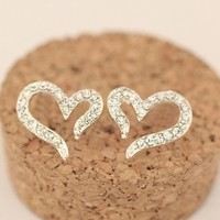 Loving Hearts Fashion Earrings