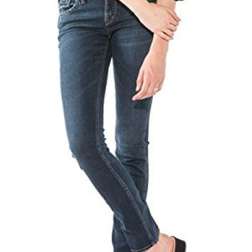 Silver Jeans Elyse Eased Curvy Straight Leg Jeans