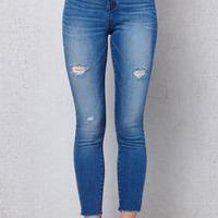 PacSun Allan Wash Ripped High Rise Jeggings at PacSun.com