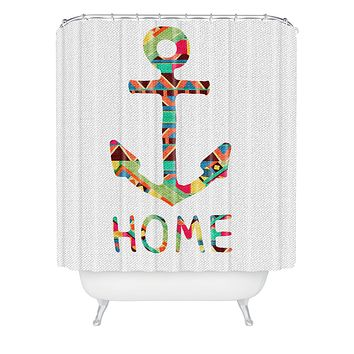 Bianca Green You Make Me Home Shower Curtain