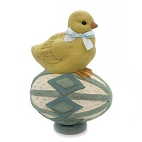 Easter Perched Chick Easter & Spring Figurine