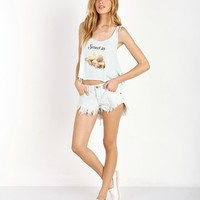 WILDFOX A La Mode Mega Babe Tank Clear Pool WTJ70454D - Free Shipping at Largo Drive