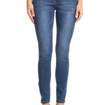 Perfect Curve High Waist Skinny Jeans in Dark