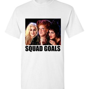 Squad Goals Sanderson Sisters Halloween T-Shirt
