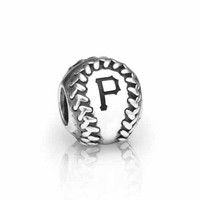 PANDORA Pittsburgh Pirates MLB Baseball Charm