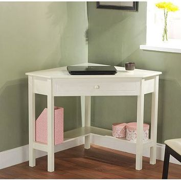 Corner Writing Desk, Multiple Finishes - Walmart.com