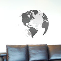 Surface Collective's Wall Tattoos / Wall Decals / Laptop Decals - Product - Around the World