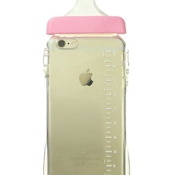 BABY BOTTLE PINK IPHONE CASE