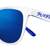 Surreal Sunglasses - Limited Edition - White & Blue