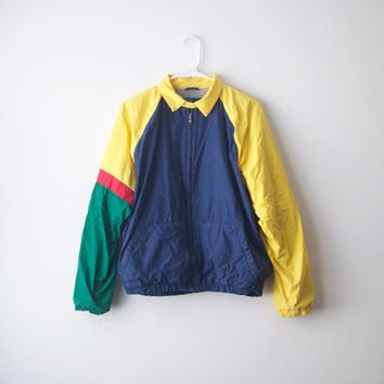 Vintage Polo Ralph Lauren Colorblock Windbreaker