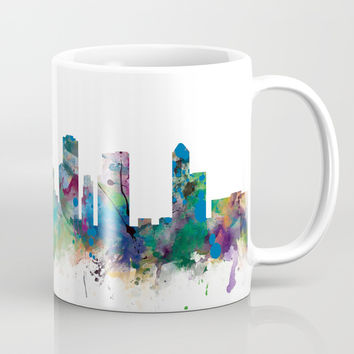 Houston Skyline Coffee Mug by monnprint