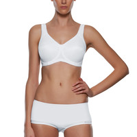 Active White Underwired Sports Bra from Freya