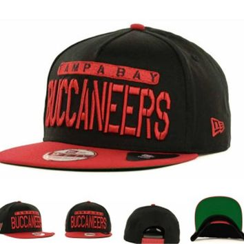 Tampa Bay Buccaneers Nfl Cap Snapback Hat - Ready Stock