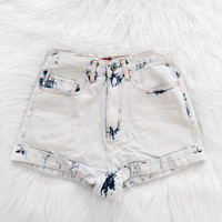Acid Wash Shorts