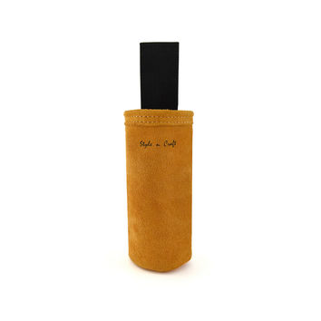 91022 - Spray Paint Can Holder in Heavy Duty Suede Leather