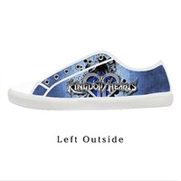 Custom Kingdom Hearts Women's Canvas Shoes Fashion Shoes for Women