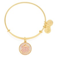 LOTUS PEACE PETALS Art Infusion Charm Bangle