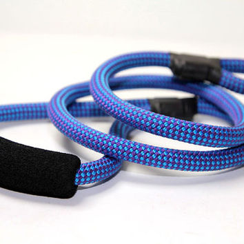 Rope Lead - Mountain Rope Leash - Dog Lead - Rope Leash with Comfort Handle 10mm - Choose Length