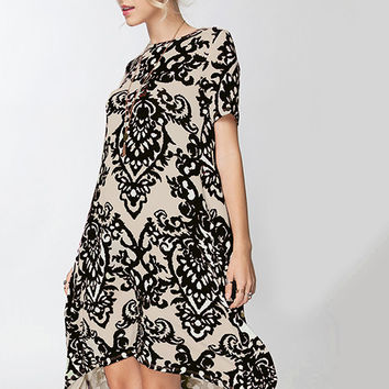 Wallpaper High Low Tee Dress