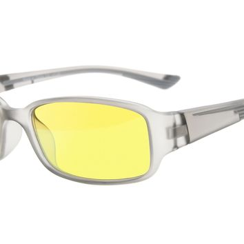 Eyekepper Anti Blue Light More than 94% Computer Glasses, Anti-fog, Scratch Resistant, Anti-glare, Anti-reflective, Anti-fatigue, UV and Computer/TV Electromagnetic Radiation Protection Eyeglasses, Yellow Tinted Lens