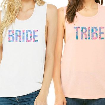 Bride Tribe Duo Muscle Tank
