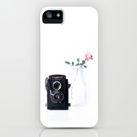 vintage rose iPhone & iPod Case by ingz