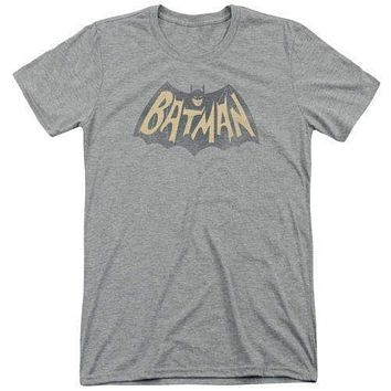 Batman Classic TV Show Logo Super Soft Tri Blend T-Shirt