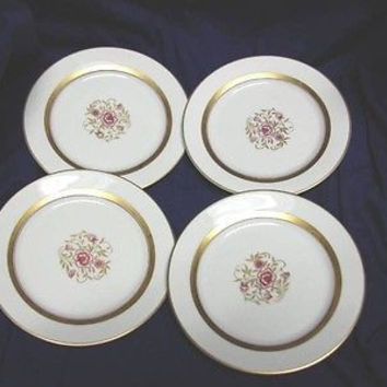 Rosenthal China Dinnerware Germany, # 692/29  Set 4 Bread and Butter Plate(s)