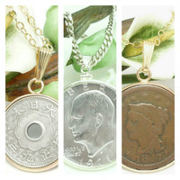 Handcrafted Coin Jewelry