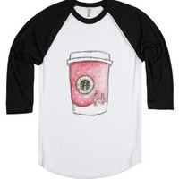 Winter Drink.-Unisex White/Black T-Shirt
