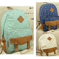 Cute Canvas Girly Backpacks