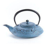 Tea Taira-Nami Cast-Iron Teapot, Cast-Iron from Japan, Le Palais des Thés