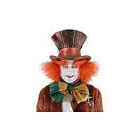 Alice in Wonderland Mad Hatter Hat with Hair, Disney
