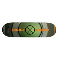 GHOST FINDER DECK by j3ll3yboards Skate Board Deck