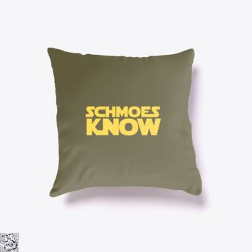 Schmoes Know Star Wars, Star Wars Throw Pillow Cover