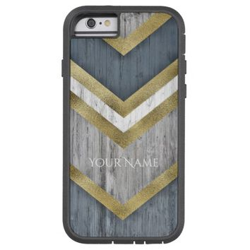 Gold/Blue/Grey Arrows Tough Xtreme iPhone 6 Case