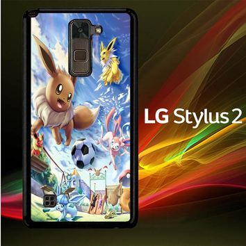 Eevee And Umbreon And Espeon X0915 LG Stylus 2 | LG Stylo 2 Case