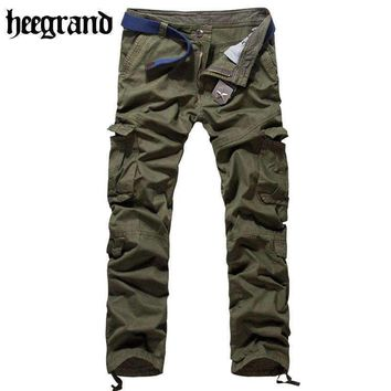 Pants Mens Cargo Pants Casual Hip Pop Trousers Pantalon Homme Mkx567