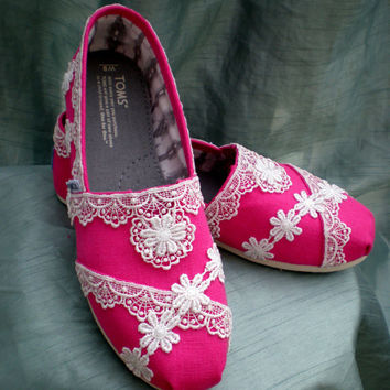 Custom Bridal TOMS
