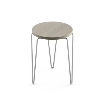 Florence Knoll Hairpin Stacking Table - Chrome Base