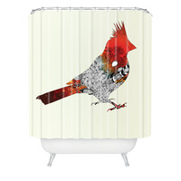 Iveta Abolina Cardinal Shower Curtain