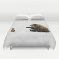 Brunt Duvet Cover by Rob Snow