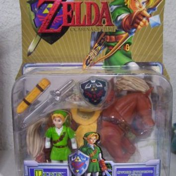 Nintendo Video Game Super Stars The legend of Zelda and Horse