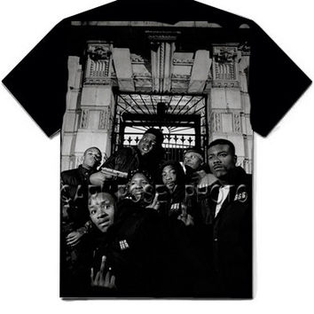 Carl Posey Notorious BIG Biggie & Junior Mafia T-Shirt