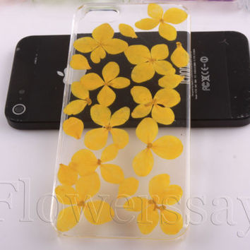 iPhone 6 case iPhone 6 plus Pressed Flower, iPhone 5/5s case, iPhone 4/4s case,  5c case Galaxy S4 S5 Note 2 note 3 Real Flower case NO:F414
