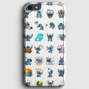 Lilo And Stitch Pattern iPhone 7 Case | casescraft