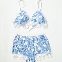 Splendid Time Alone Bralette in Trees | Mod Retro Vintage Underwear | ModCloth.com