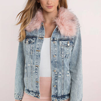 Honey Punch Honey Punch Clueless Denim Jacket
